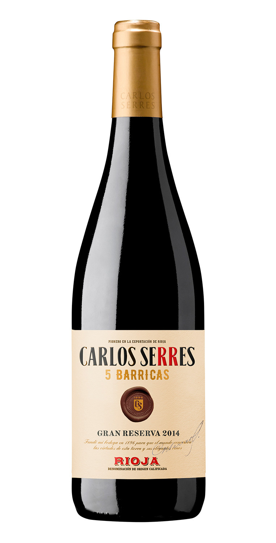 Carlos Serres 5 Barricas Gran Reserva 2014