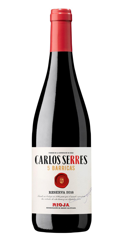 Carlos Serres 5 Barricas Reserva 2016