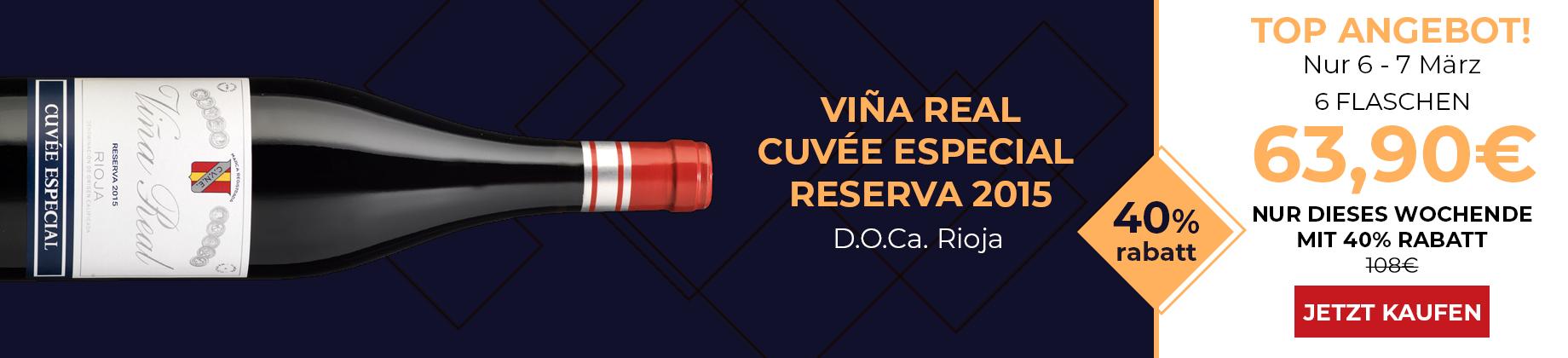 VIÑA REAL CUVÉE ESPECIAL RESERVA