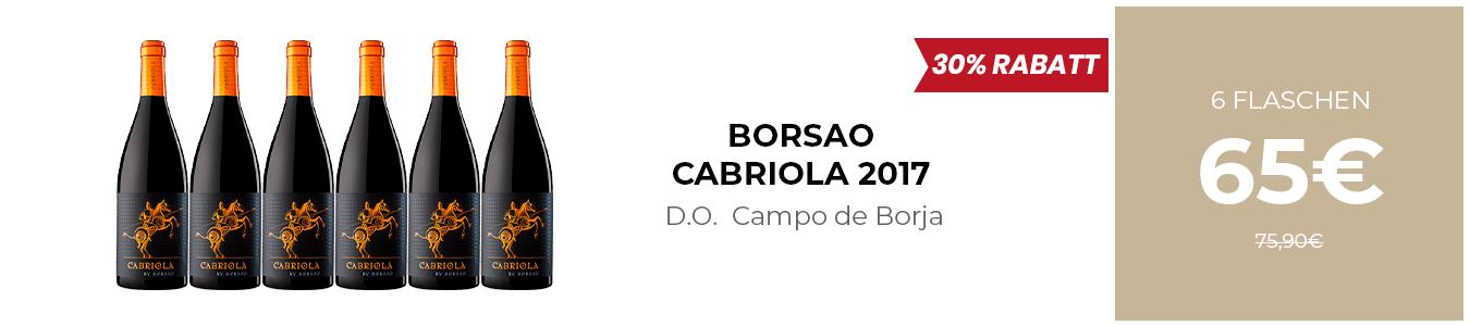 BORSAO CABRIOLA 2017