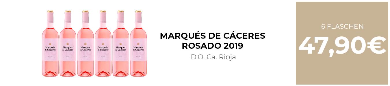 MARQUÉS DE CÁCERES ROSADO 2019