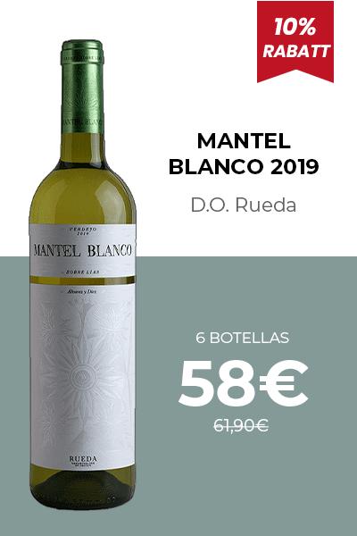 MANTEL BLANCO 2019