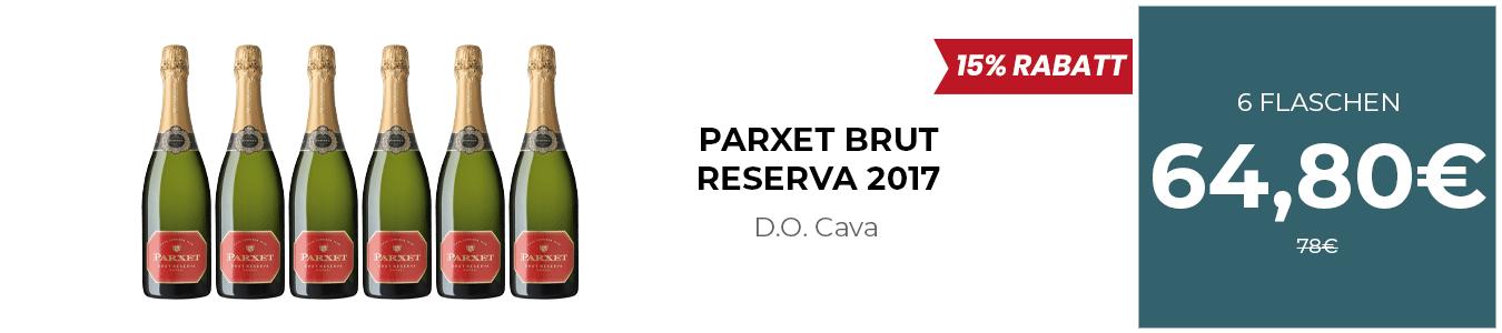 PARXET BRUT RESERVA 2017