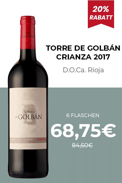 TORRE DE GOLBÁN CRIANZA 2017