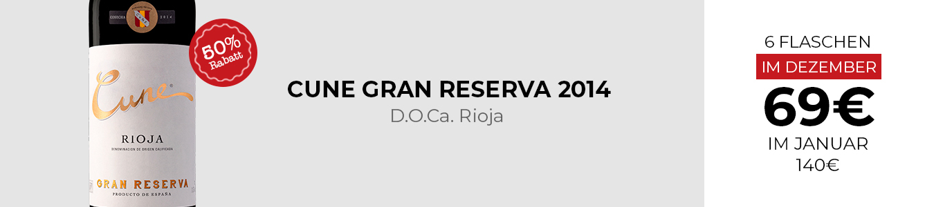 Cune Gran Reserva 2014