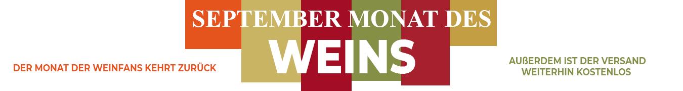 September Monat des Weins