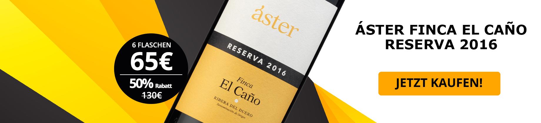 Áster Finca El Caño Reserva 2016
