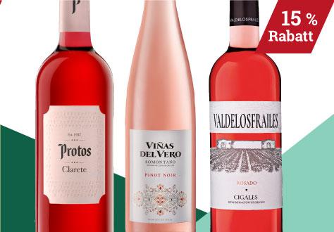 Auswahl Weinmesse Roséweine