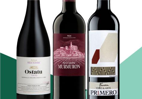 Auswahl Weinmesse Rotweine