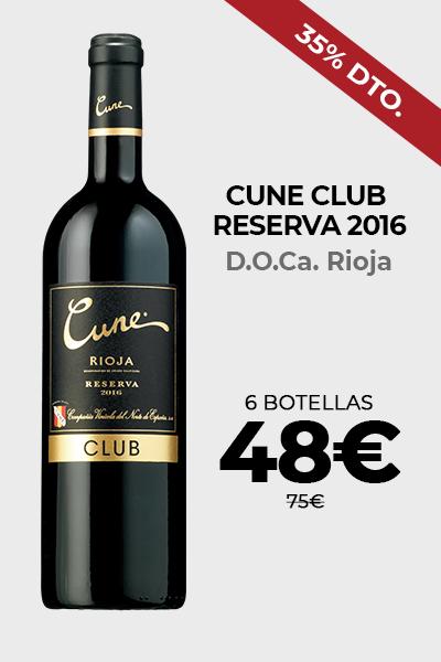 Cune Club Reserva 2016