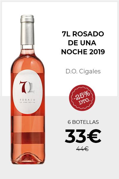 7 L Rosado de Una Noche 2019