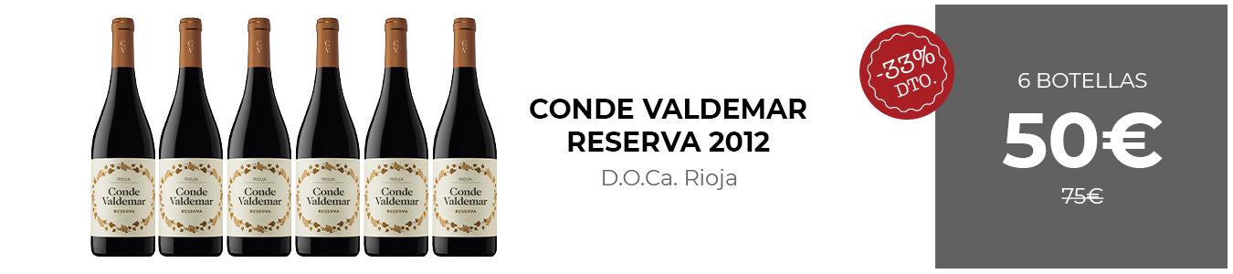 Conde Valdemar Reserva 2012