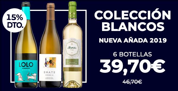 Colección Blancos nueva añada 2019