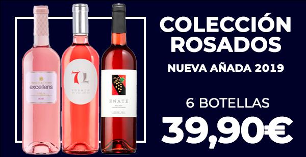 Colección Rosados nueva añada 2019
